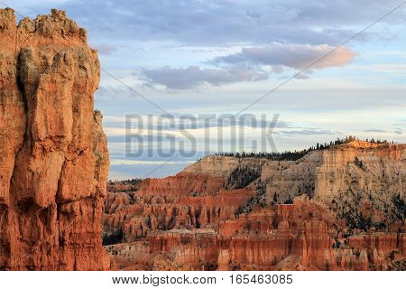 The national park Bryce canyon in America