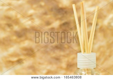 Air Diffuser on cornflakes backdrop or background