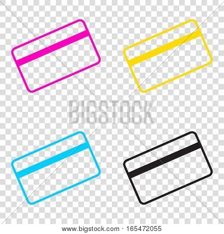 credit card symbol vector photo free trial bigstock