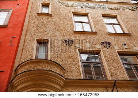 Old building in Gamla Stan Stockholm Sweden.