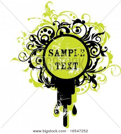 Vector background for text