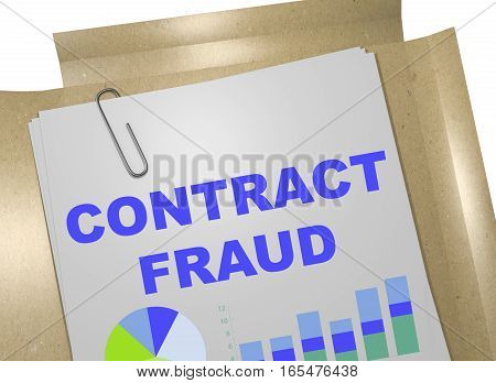 Contract Fraud - Business Concept