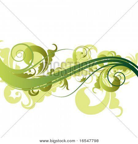 floral line