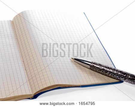 Pen And A Notebook