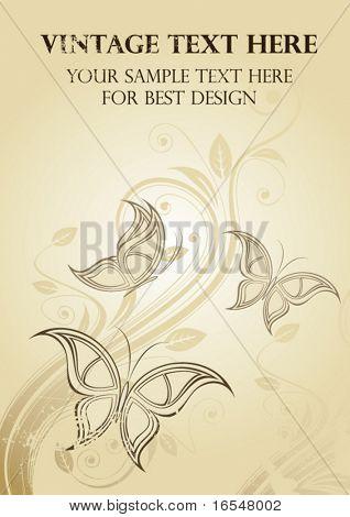 Elegance vintage cover.