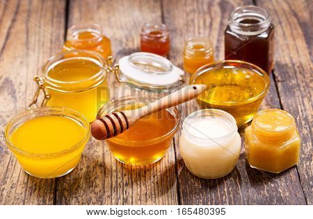 Various Types Of Honey