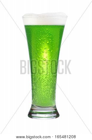Glass Of Green Beer