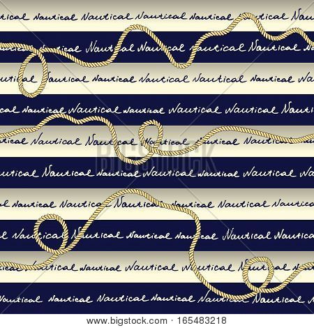 Seamless background pattern. Plaid nautical pattern in fashion style.