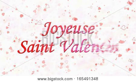 Happy Valentine's Day Text In French