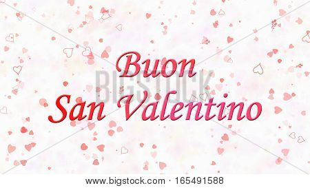 Happy Valentine's Day Text In Italian