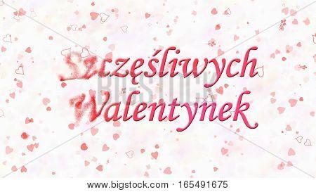 Happy Valentine's Day Text In Polish