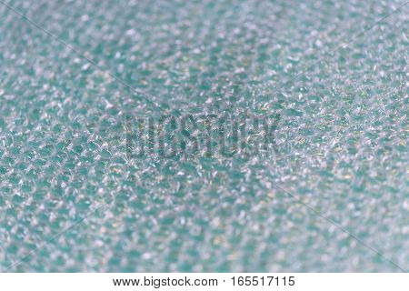 Page of Large Clear Bubbles on bubblewrap packaging material. Packaging with air bubbles - blue texture.