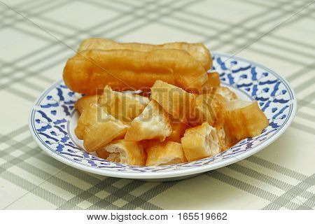 Deep-fried Dough Stick Call Patongko.