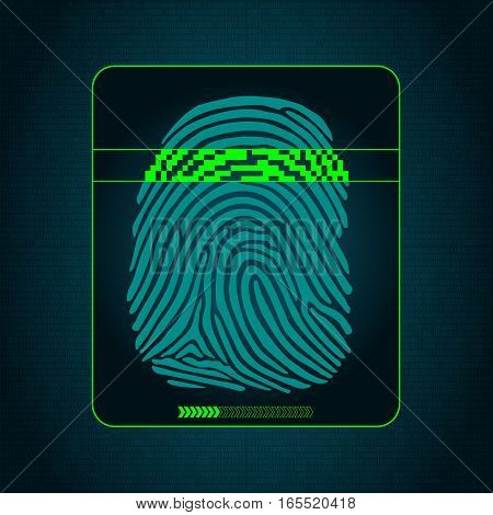 the system of fingerprint scanning - biometric security devices, digital security system access