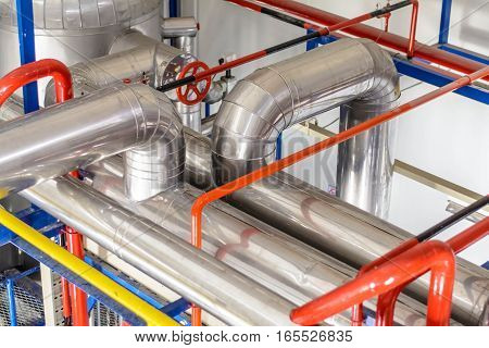 Industrial pipe line refrigeration at manufacturing , pipe line refrigeration in Asia