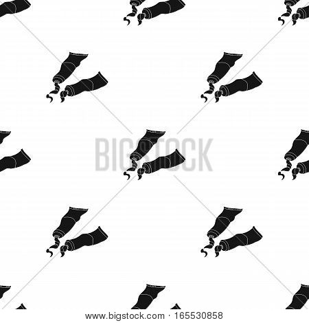 Geometric still life icon in Black style isolated on white background. Artist and drawing pattern vector illustration.