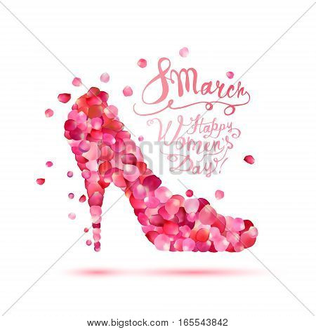 Happy Woman's Day! 8 March Holiday.