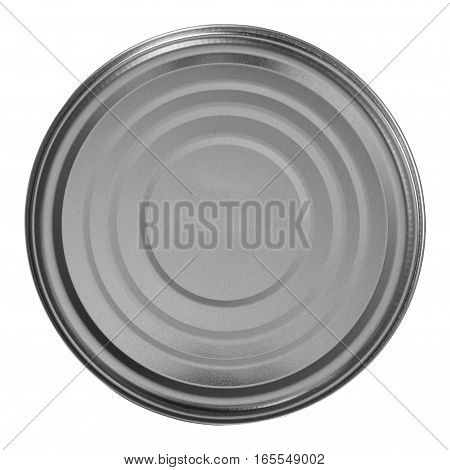 Tin Can Isolated Over White