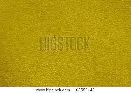 Lemon Yellow leather texture. structured background design