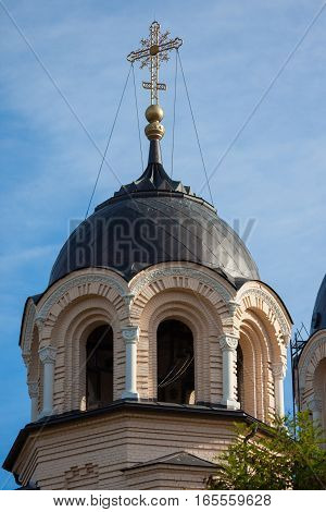 Our Lady of the Sign Church the orthodox church in Vilnius Lithuania
