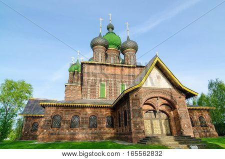 St. John The Baptist Church In City Of Yaroslavl, Russia.