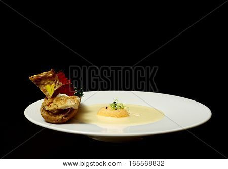 Fish Fillet With Soup