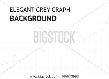 Vector grey elegant graph website background EPS10