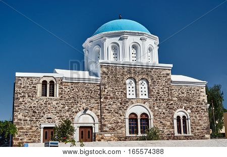 the Orthodox church on the island of Kos in Greece
