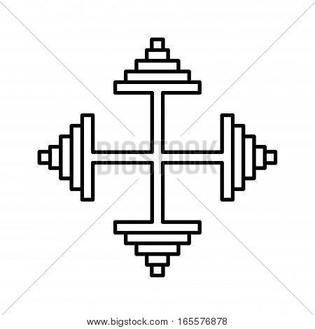 arrow pointer isolated icon vector illustration design