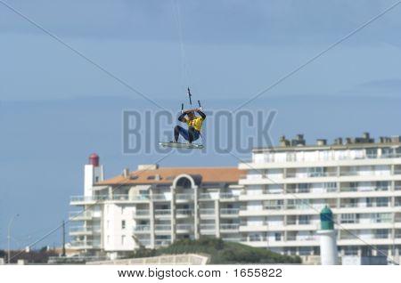 Kiteboard Big Air