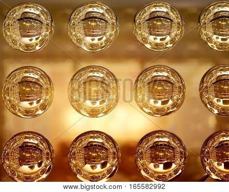 Perfectly bright design transparent glass shine balls