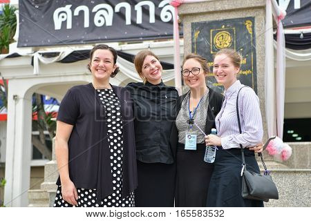 Peace Corps Of United States In Thailand.
