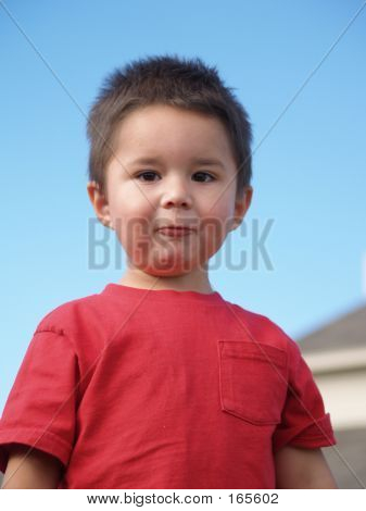 Children-silly Face Boy