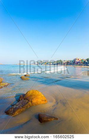 Kovalam Beach Beachfront Hotels Ocean V