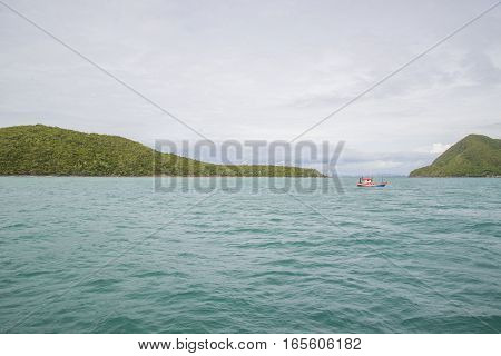 14 Nov 2014 - Fishing Ship Sails In The Gulf Of Thailand. The Picture Was Taken While Hiking On The