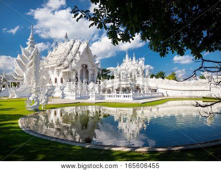White Temple In Northern Thailand