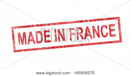 MADE IN FRANCE in a red rectangular stamp