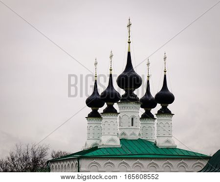 Ortodox Church In Suzdal, Russia