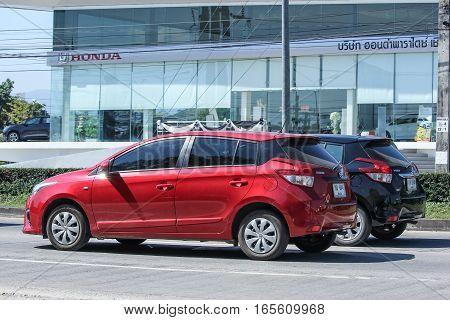 Private Car Toyota Yaris Eco Car