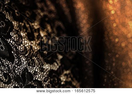 Abstract vintage background with floral retro element