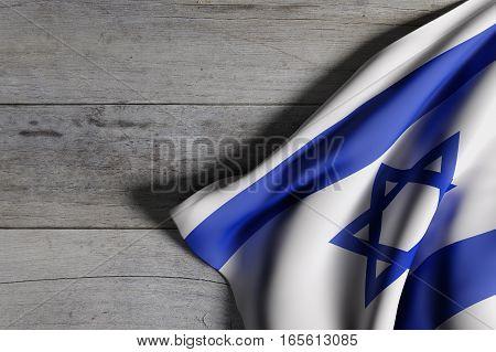Israel Flag Waving
