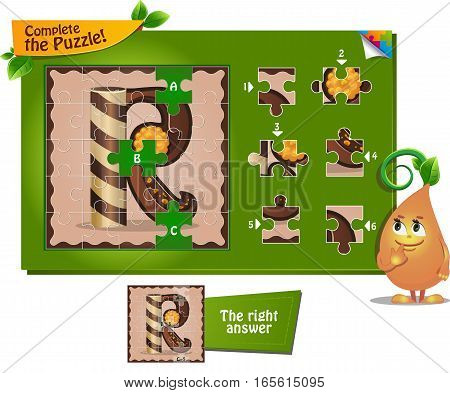 Puzzle Letters Of The Alphabet R