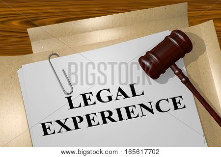 Legal Experience - Legal Concept