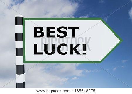 Best Luck Concept
