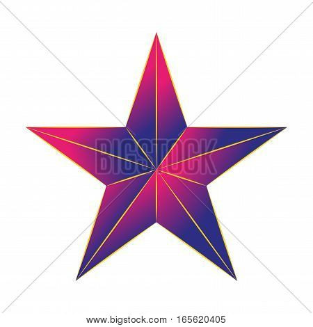 Color stars icon on a white background.