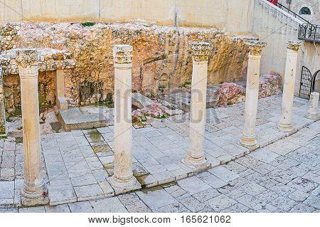 The Ruins Of Cardo