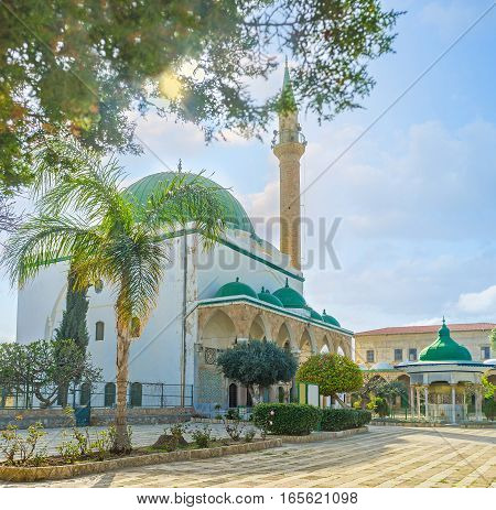 The White Mosque Of Acre