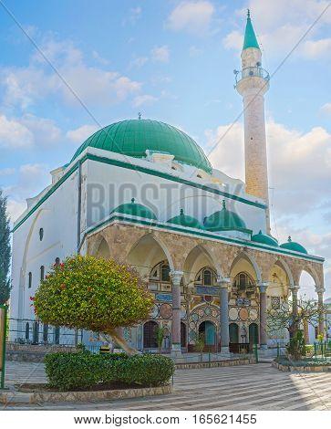 Visiting The Al-jazzar Mosque