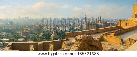 The Cityscape Of Cairo