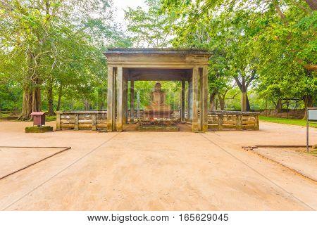 Anuradhapura Samadhi Buddha Statue Footpath H